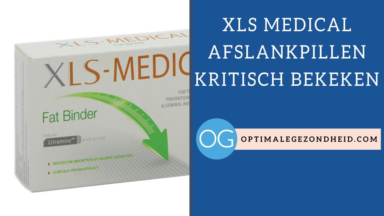 XLS Medical afslankpillen kritisch bekeken
