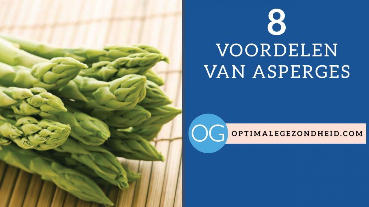 8 gezondheidsvoordelen van asperges
