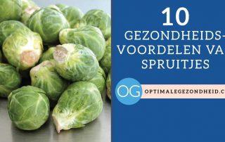 10 gezondheidsvoordelen van spruitjes