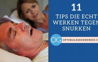 11 tips die écht werken tegen snurken