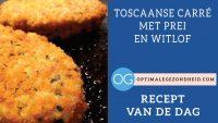 Recept van de dag: Toscaanse carré met prei en witlof