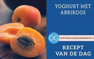Recept van de dag: Yoghurt met abrikoos