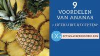 9 gezondheidsvoordelen van ananas + heerlijke recepten