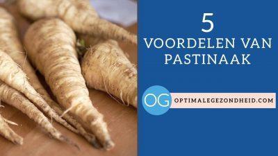 5 gezondheidsvoordelen van Pastinaak
