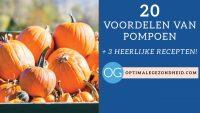 20 voordelen van pompoen + 3 heerlijke recepten!