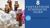 8 etherische olien