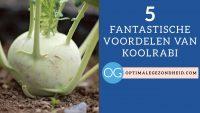 5 fantastische voordelen van koolrabi