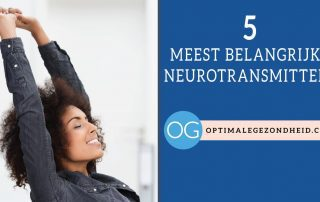 De 5 belangrijkste neurotransmitters