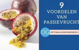 9 gezondheidsvoordelen van passievrucht