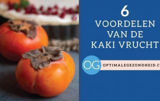 De 6 gezondheidsvoordelen van de Kaki Vrucht