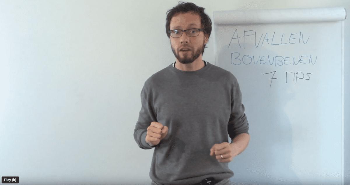 afvallen bovenbenen videotip