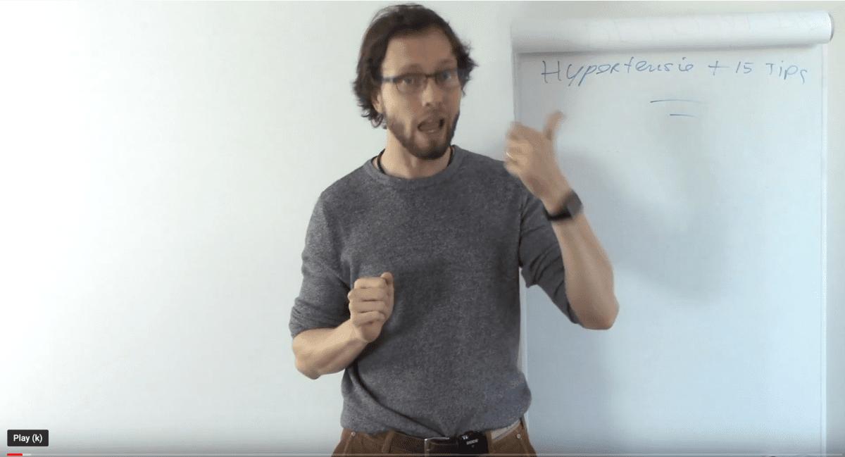hypertensie videotip